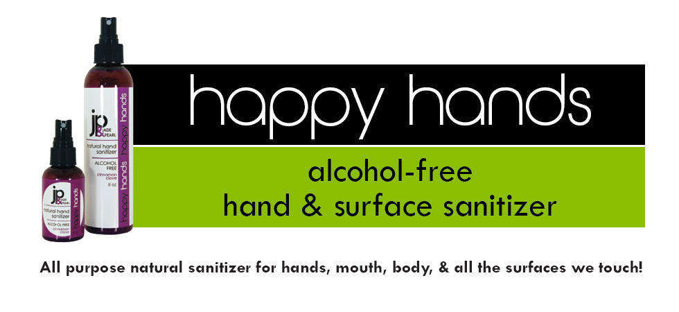 Happy Hands Alcohol-Free Hand & Surface Sanitizer